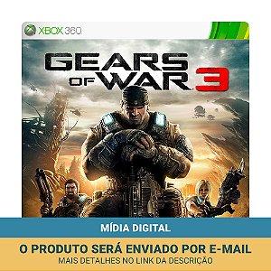Jogo Gears of War 3 (Mídia Digital) - Xbox 360