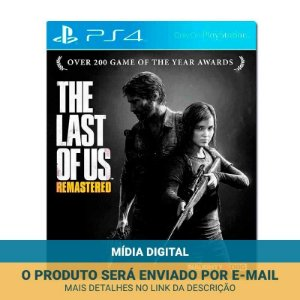 Jogo The Last of Us Remasterizado (Mídia Digital) - PS4