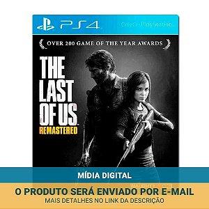 Jogo The Last of Us Remasterizado (Mídia Digital) - PS4