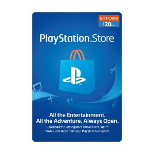 Cartão Presente $20 (dólares) PSN Americana - Sony