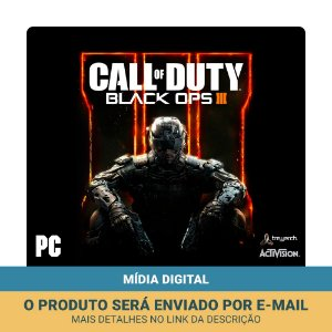 Jogo Call of Duty: Black Ops III + DLC (Mídia digital) - PC