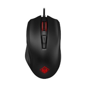 Mouse Gamer HP Omen 600 12000 DPI LED Preto com fio