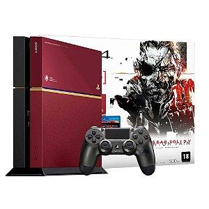 Console PlayStation 4: Edição Especial Metal Gear Solid V: Phantom Pain 500 Gb - Sony