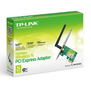 Adaptador Wireless TP-Link PCI Express - 150 Mbps
