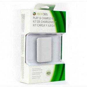 Bateria Microsoft para Controle Branca - Xbox 360