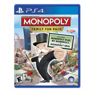 Jogo Monopoly: Family Fun Pack - PS4