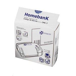 Leitor de Código de Barras Homebank CMC-7