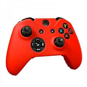 Capa de Silicone Tomee Vermelha para Controle - Xbox One