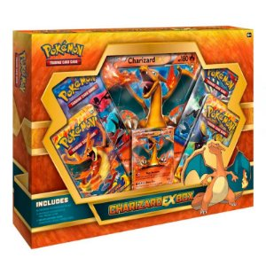 Card Box Pokemon - Charizard EX