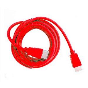 Cabo HDMI Kolke Vermelho 1.8m 1.4v / 19pm