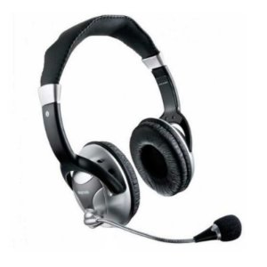 Headset Stereo Multilaser Big Professional com fio