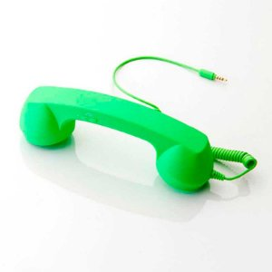 Fone Headset Retro Pop Phone Verde