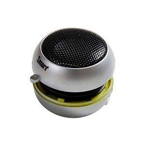 Mini Speaker Portátil Smart 2.4w Cinza