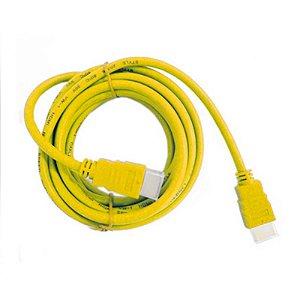 Cabo HDMI Kolke Amarelo 1.8m 1.4v / 19pm