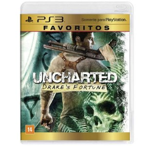 Jogo Uncharted: Drake's Fortune - PS3