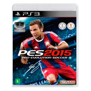 Jogo Pro Evolution Soccer 2015 - PS3