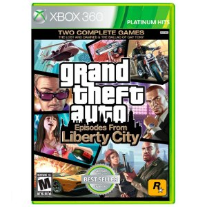 Jogo Grand Theft Auto: Episodes From Liberty City (GTA 4) - Xbox 360