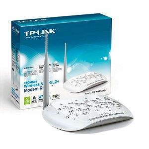 Modem Roteador TP-Link + Wireless N de 150Mbps ADSL2