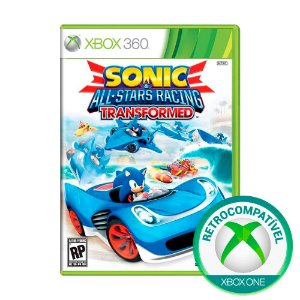 Jogo Sonic e All-Stars Racing Transformed - Xbox 360