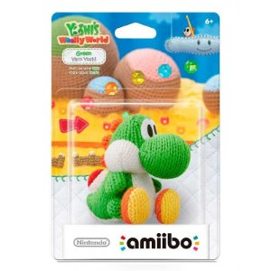 Nintendo Amiibo: Green Yarn - Yoshi's Wooly World - Wii U e New Nintendo 3DS