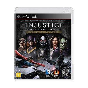 Jogo Injustice: Gods Among Us (Ultimate Edition) - PS3