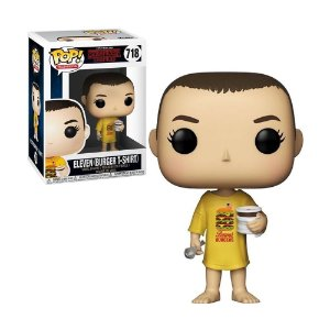 Boneco Eleven (Burger T-Shirt) 718 Stranger Things - Funko Pop!