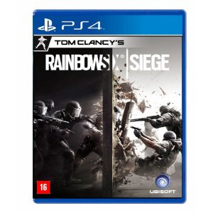 Jogo Tom Clancly's: Rainbow Six Siege - PS4