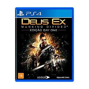 Jogo Deus Ex: Mankind Divided (Edição Day One) - PS4