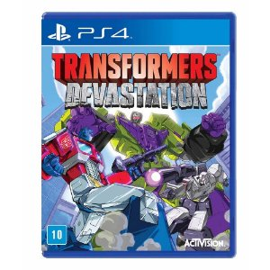 Jogo Transformers: Devastation - PS4
