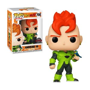 Boneco Android 16 708 Dragon Ball Z - Funko Pop!