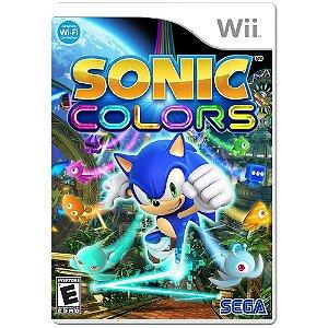 Jogo Sonic Colors - Wii