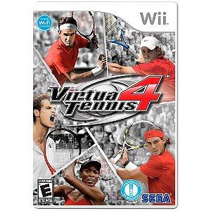 Jogo Virtua Tennis 4 - Wii