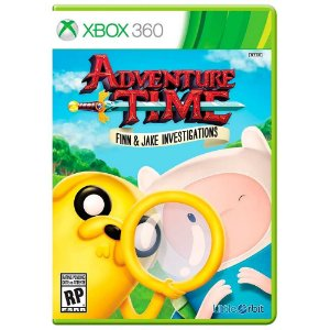 Jogo Adventure Time: Finn and Jake Investigations (Americano) - Xbox 360