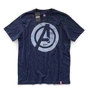 Camiseta Studio Geek Vingadores Logo Marvel - Modelo 1