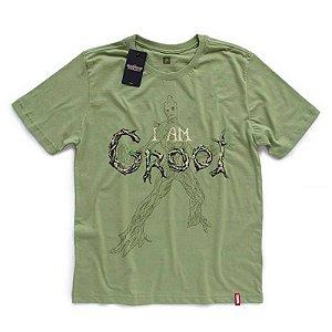 Camiseta Studio Geek Guardiões da Galáxia I Am Groot Marvel - Modelo 2