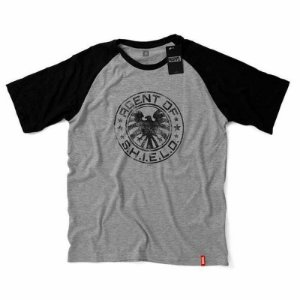 Camiseta Studio Geek SHIELD Marvel - Modelo 1