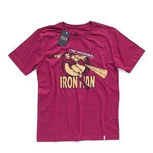 Camiseta Studio Geek Homem de Ferro Marvel - Modelo 1