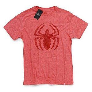 Camiseta Studio Geek Homem Aranha Logo Marvel - Modelo 2