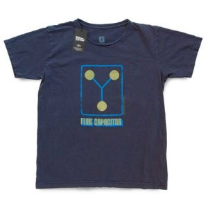 Camiseta Studio Geek Flux Capacitor Back to the Future - Modelo 1