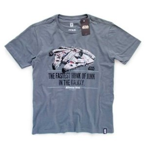 Camiseta Studio Geek Millennium Falcon Star Wars - Modelo 1
