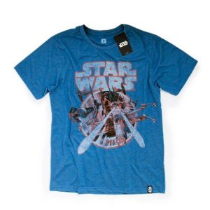 Camiseta Studio Geek Space Battle Star Wars - Modelo 3