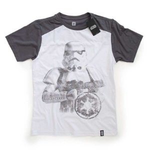 Camiseta Studio Geek Stormtrooper Cinza Star Wars - Modelo 4