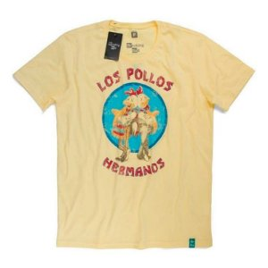Camiseta Studio Geek Los Pollos Breaking Bad - Modelo 1