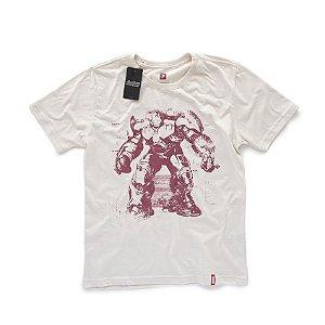 Camiseta Studio Geek Vingadores Hulkbuster Marvel - Modelo 4