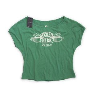 Camiseta Feminina Studio Geek Central Perk Friends - Modelo 1
