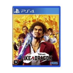 Jogo Yakuza: Like a Dragon - PS4