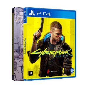 Jogo Cyberpunk 2077 (Steelbook Edition) - PS4