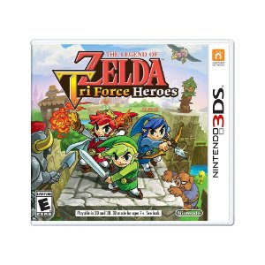 Jogo The Legend of Zelda: Triforce Heroes - 3DS