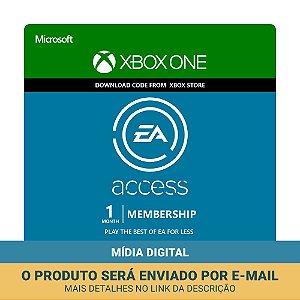 Cartão EA Access Assinatura 1 Mês Xbox One - Microsoft
