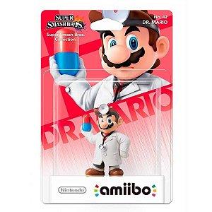 Nintendo Amiibo: Dr.Mario - Super Smash Bros. - Wii U e New Nintendo 3DS